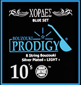 Bouzouki Prodigy Strings (Blue Set)