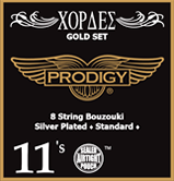 Bouzouki Prodigy Strings (Gold Set)