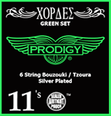Bouzouki Prodigy Strings (Green Set)