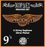 Bouzouki Prodigy Strings (Orange Set)