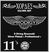 Bouzouki Prodigy Strings (Silver Set)